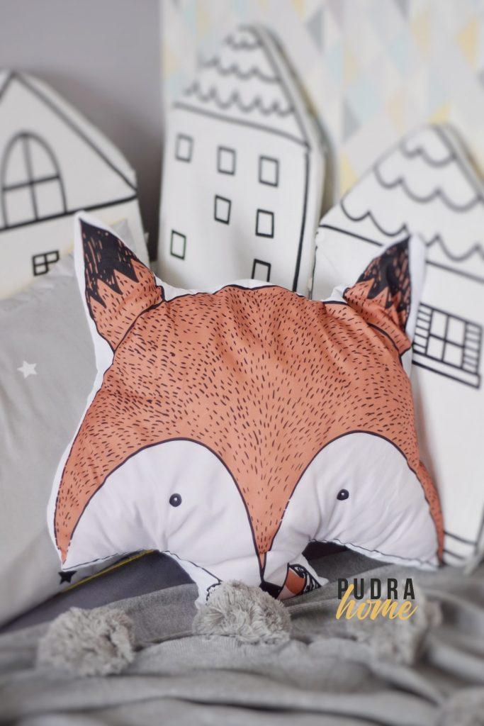 Подушка Лисенок