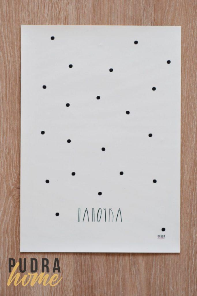 Постер Лапочка (полилит)
