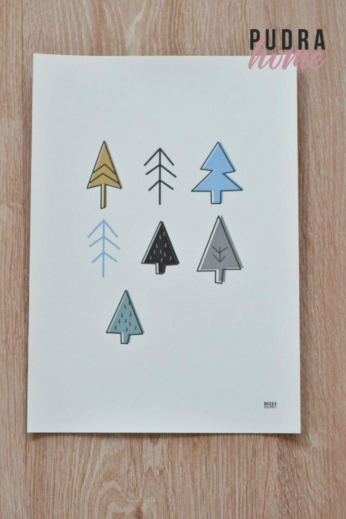 Постер Деревья (полилит)