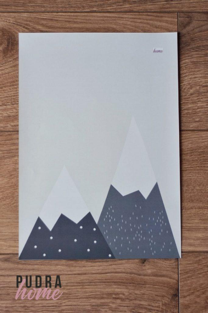 Постер Горы (полилит)
