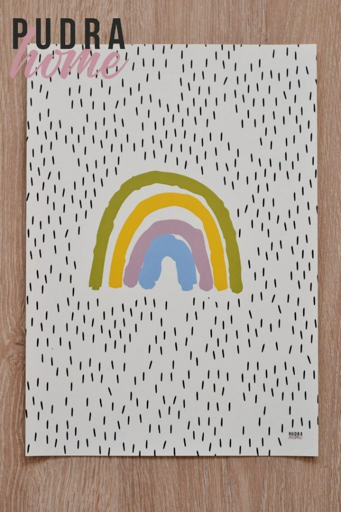 Постер Радуга (полилит)