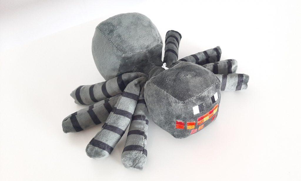 Плюшевый паук Майнкрафт