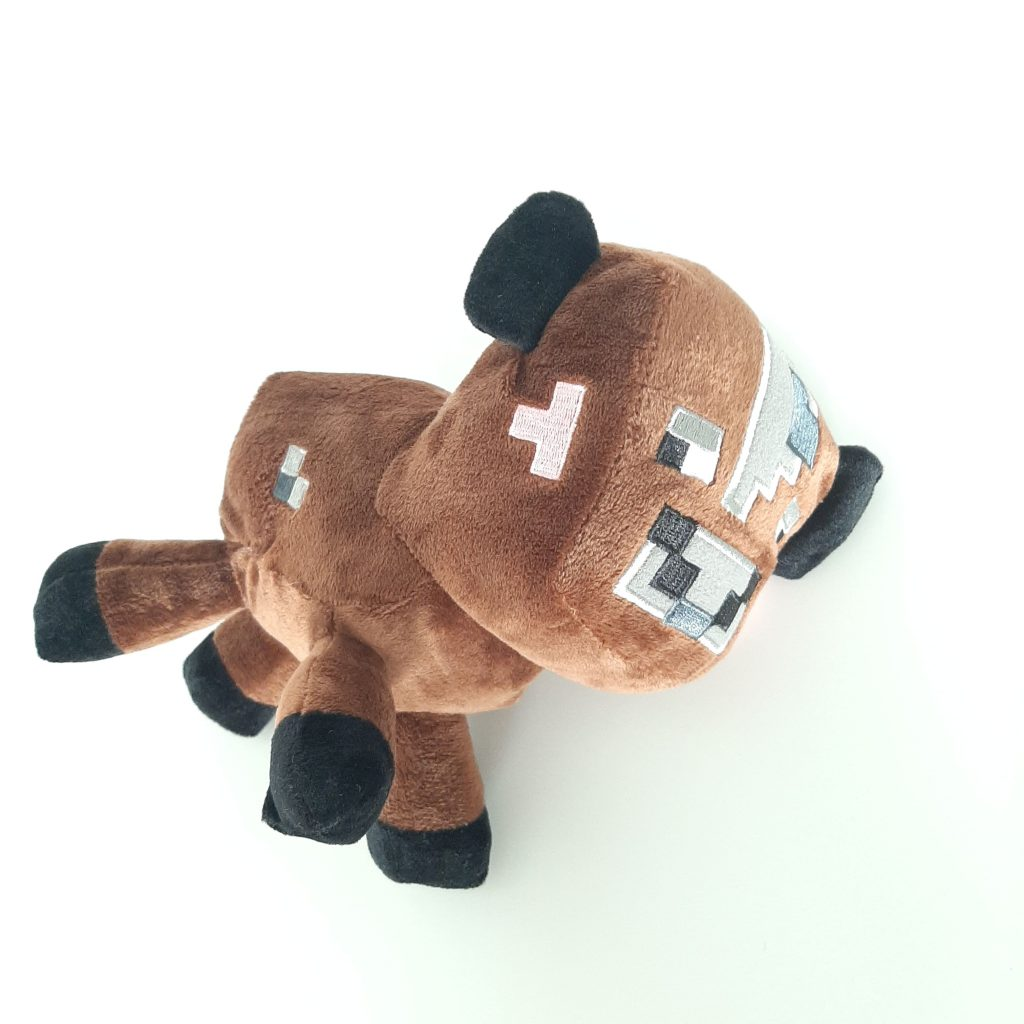 Плюшевая коровка из Майнкрафт (Cow)