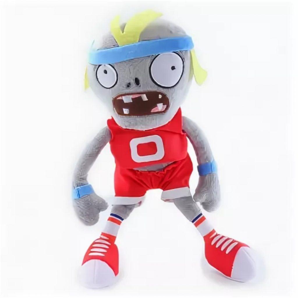 Мягкая игрушка Зомби Спортсмен