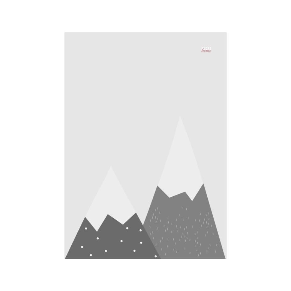 Постер Горы (Холст)