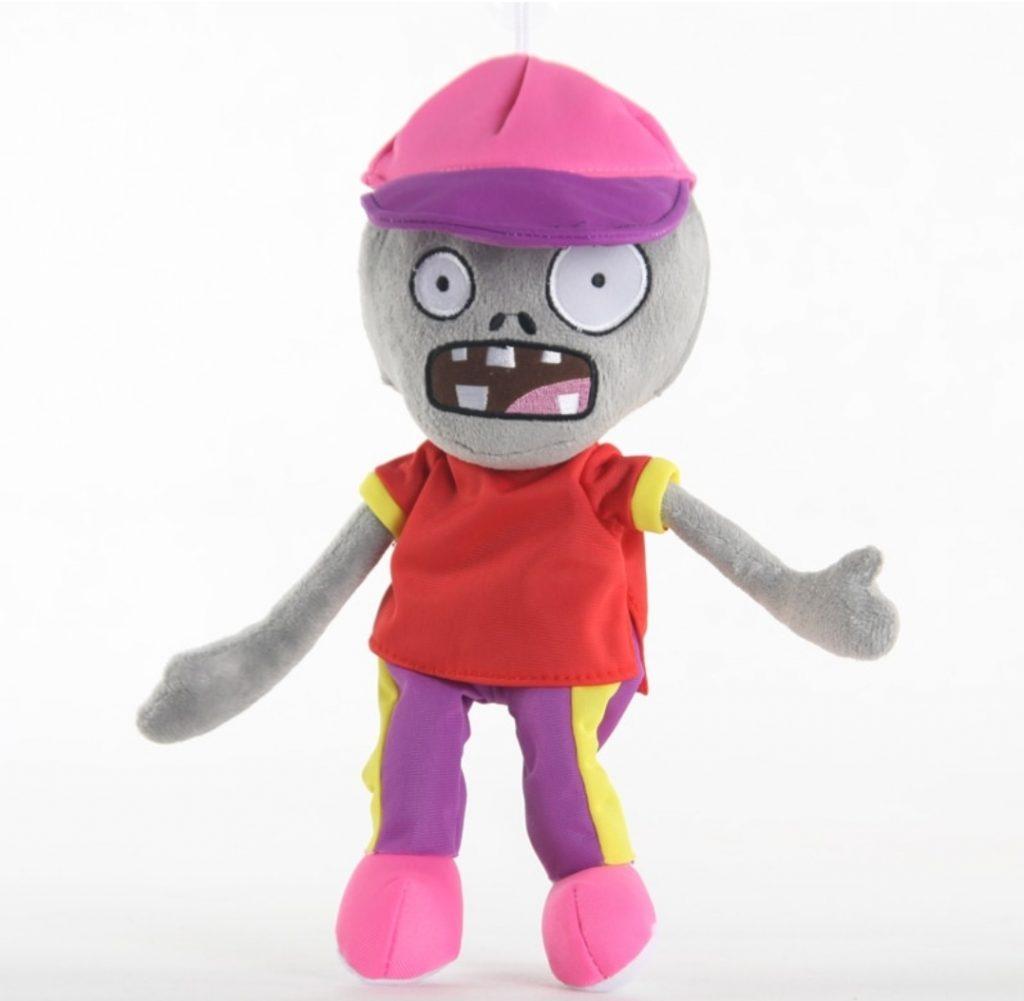 Мягкая игрушка зомби в кепке