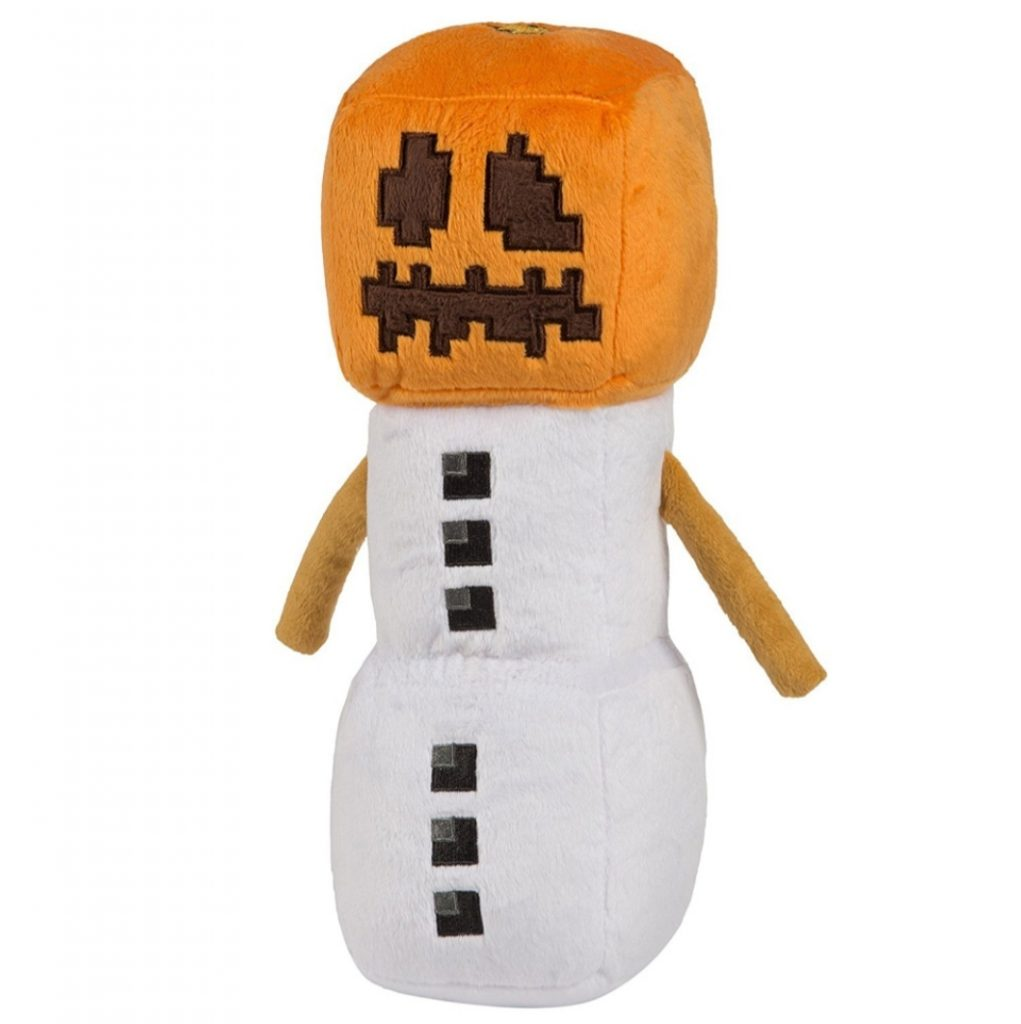Плюшевый снеговик Майнкрафт