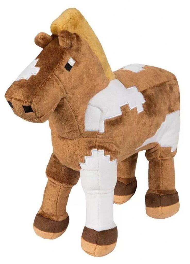 Плюшевая лошадь Майнкрафт